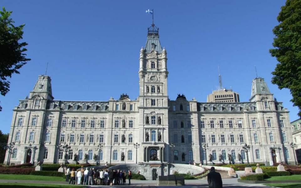 Parlamento em Quebec