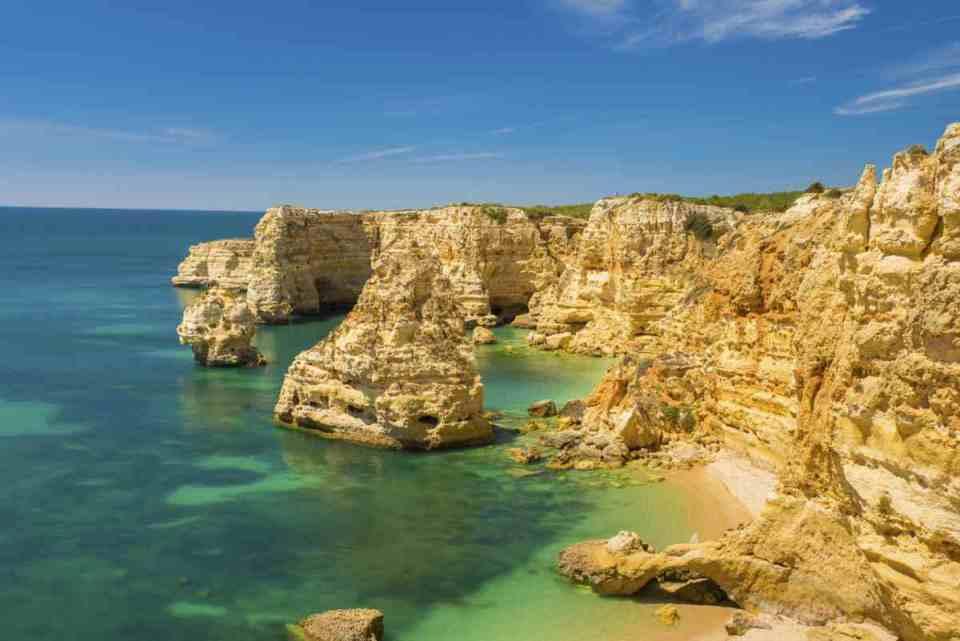 Praia-da-Marinha - Algarve