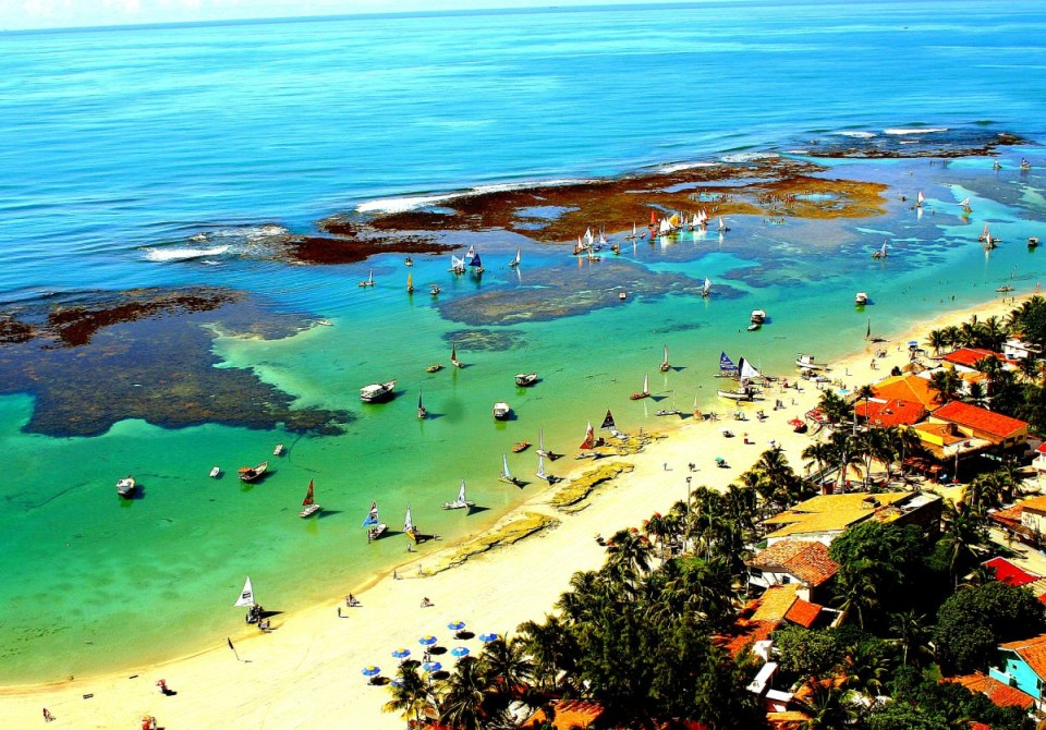 Praia de Porto Galinhas