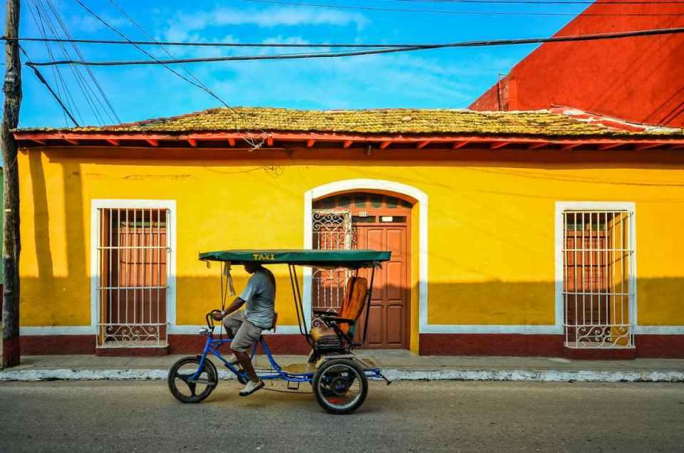 Taxi em Trinidad