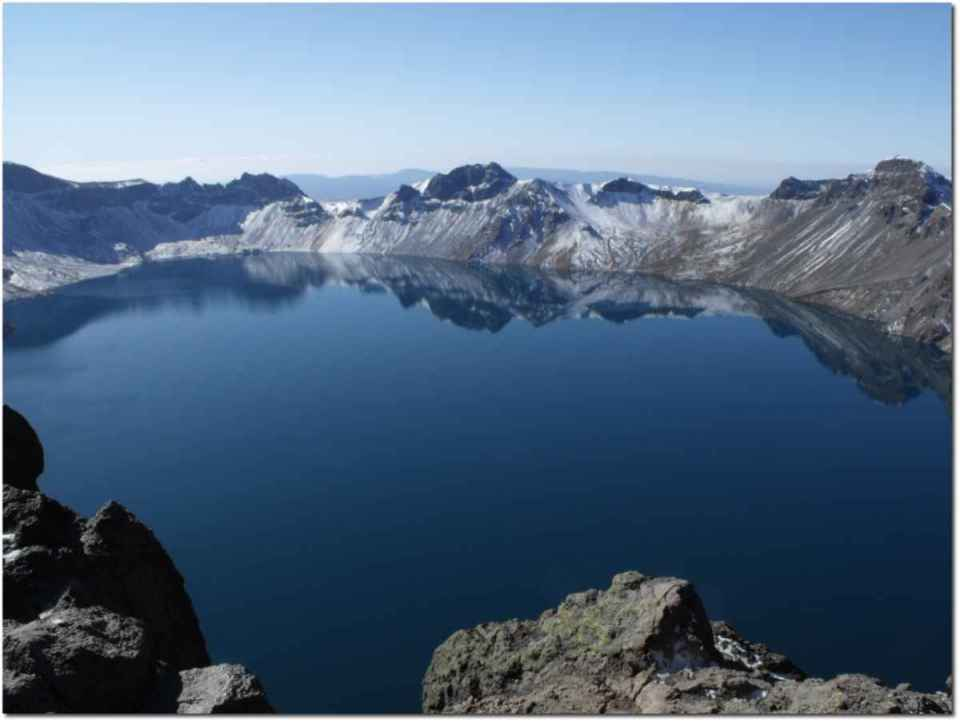 Changbai Mountains - Heaven Lake