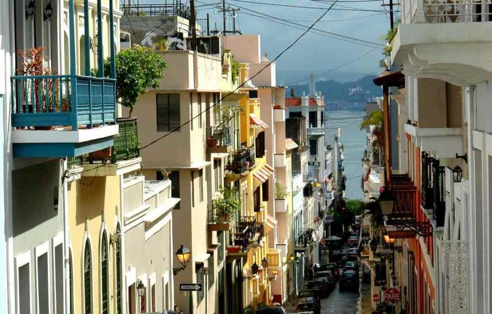 Zona antiga de San Juan