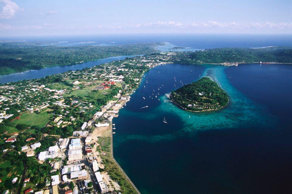 Capital de Vanuatu - Port Vila na Ilha Efate