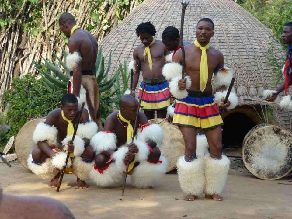 Cerimónia na Suazilândia