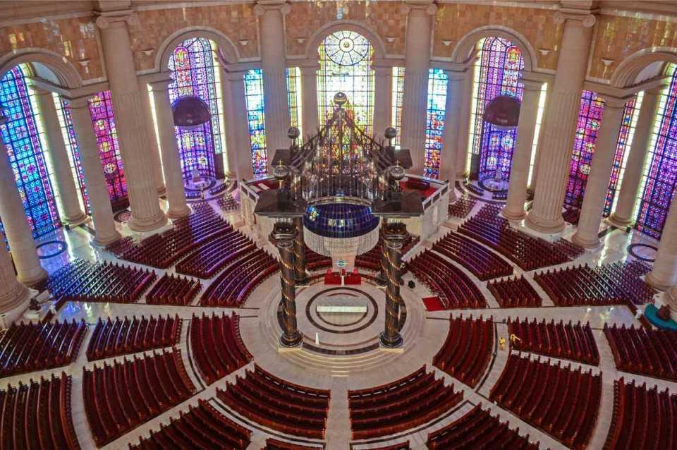 Interior da Basílica de Nossa Senhora da Paz