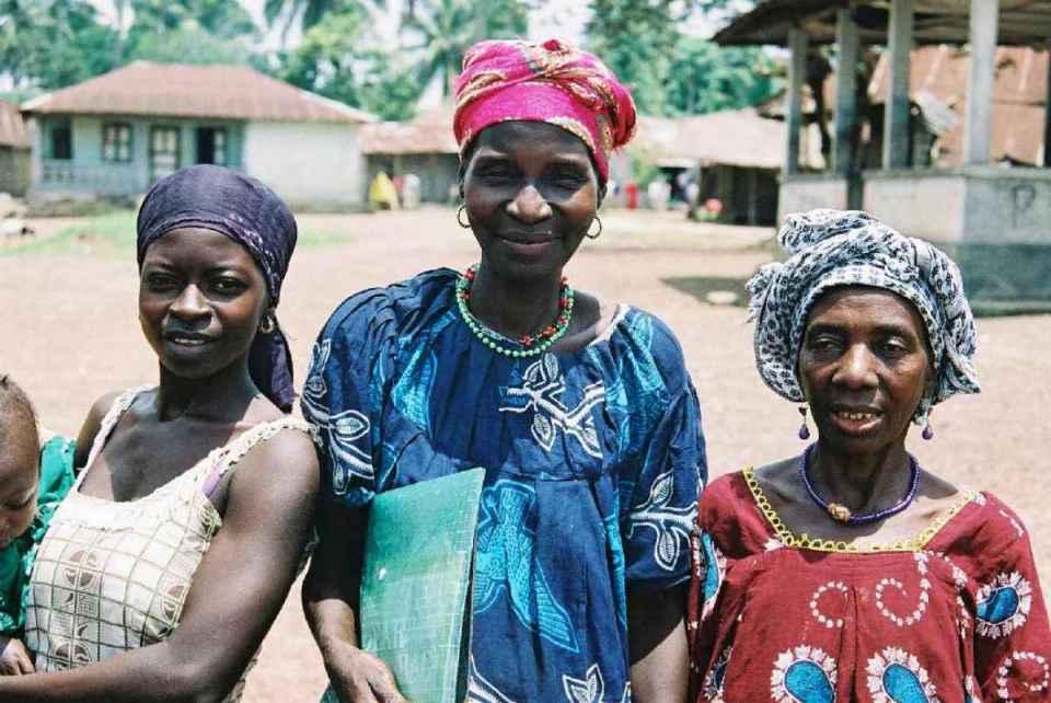 Mulheres de Serra Leoa