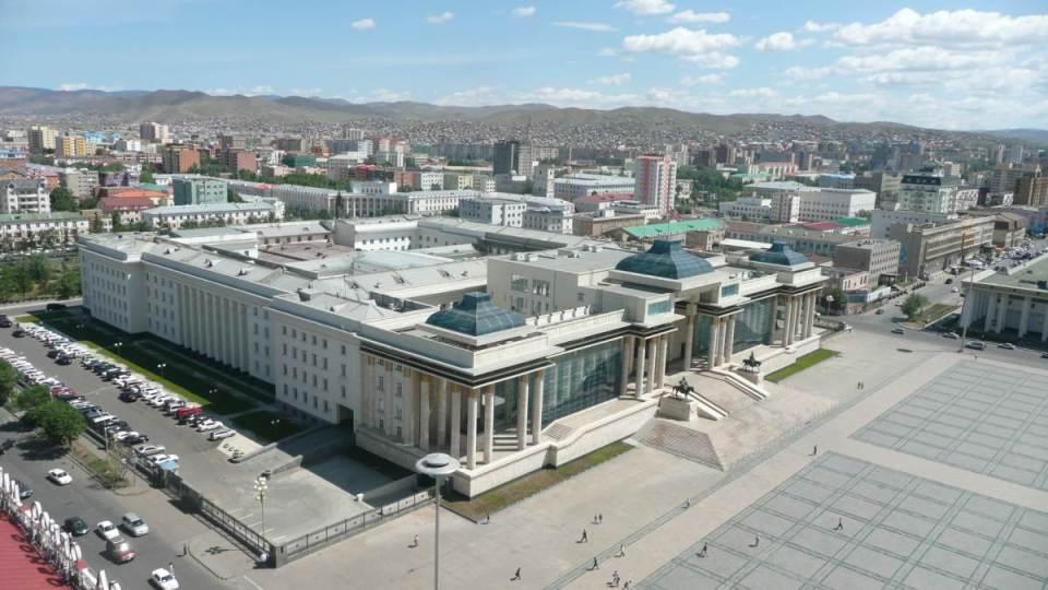 Palácio do Governo - Ulan Bator
