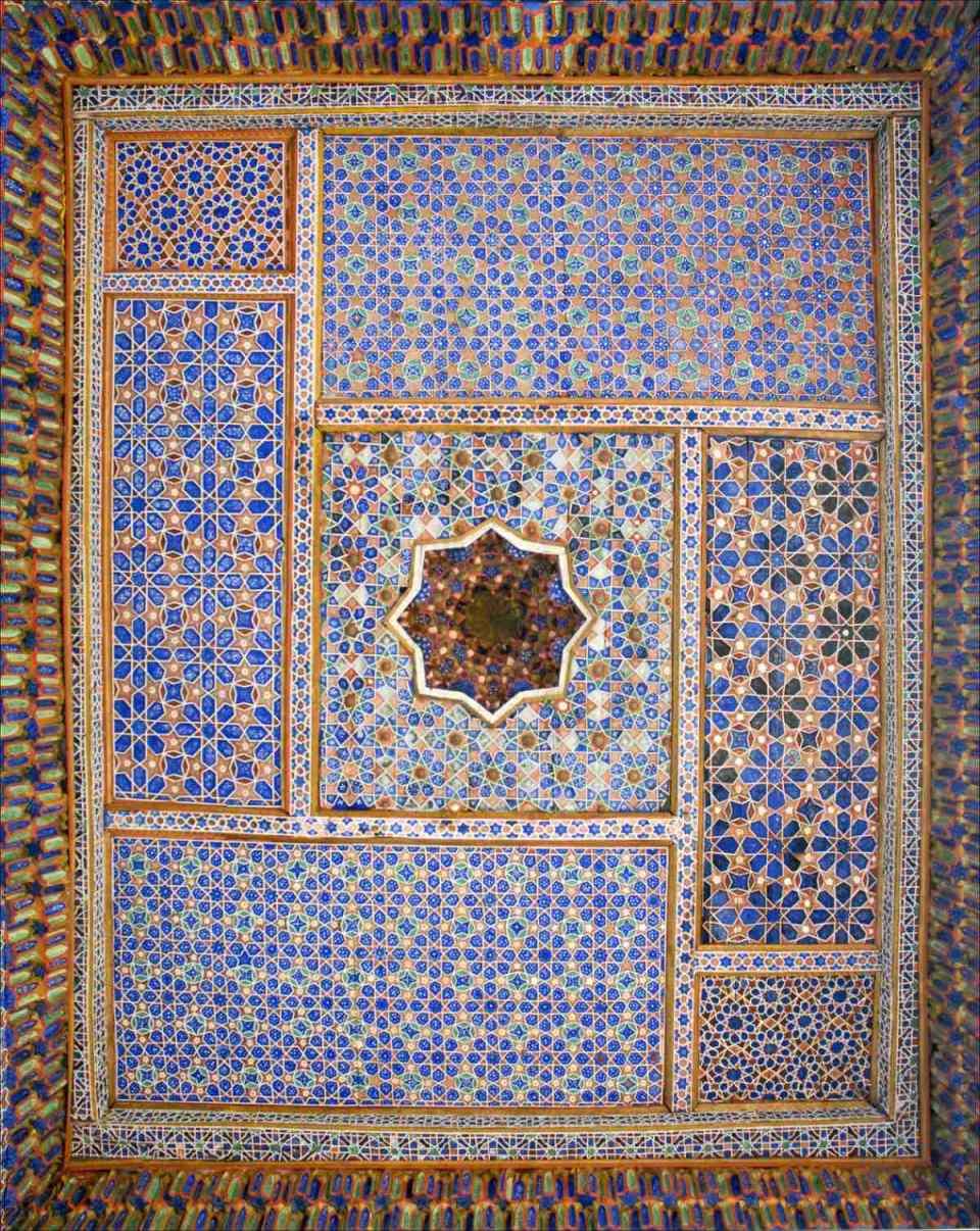 Pormenor da Madrasa Islom Khodja