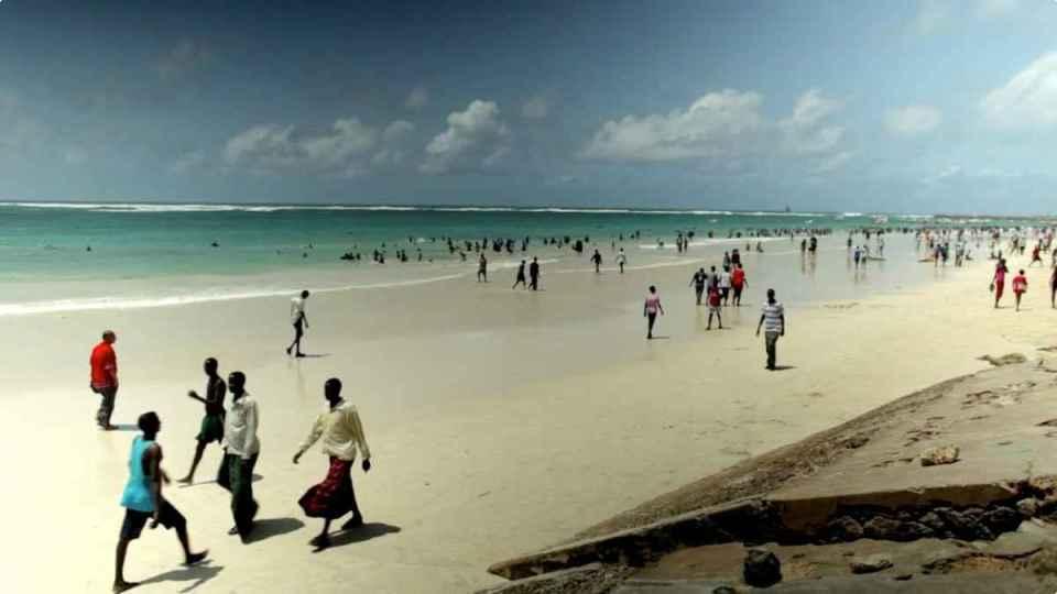 Praia na Somália