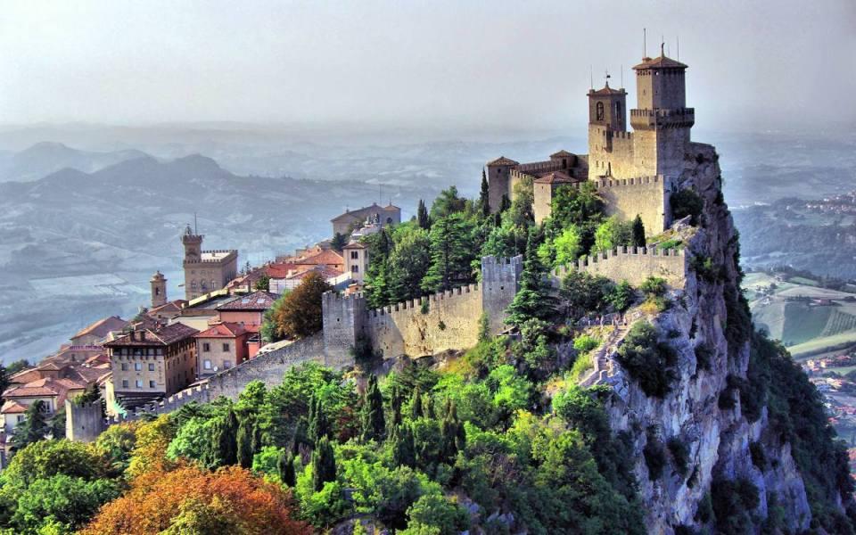 Castelo em San Marino