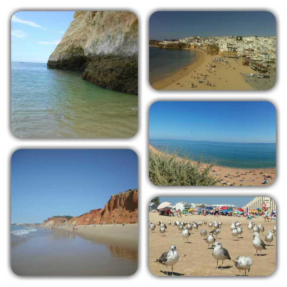 Portugal-Praias do Algarve
