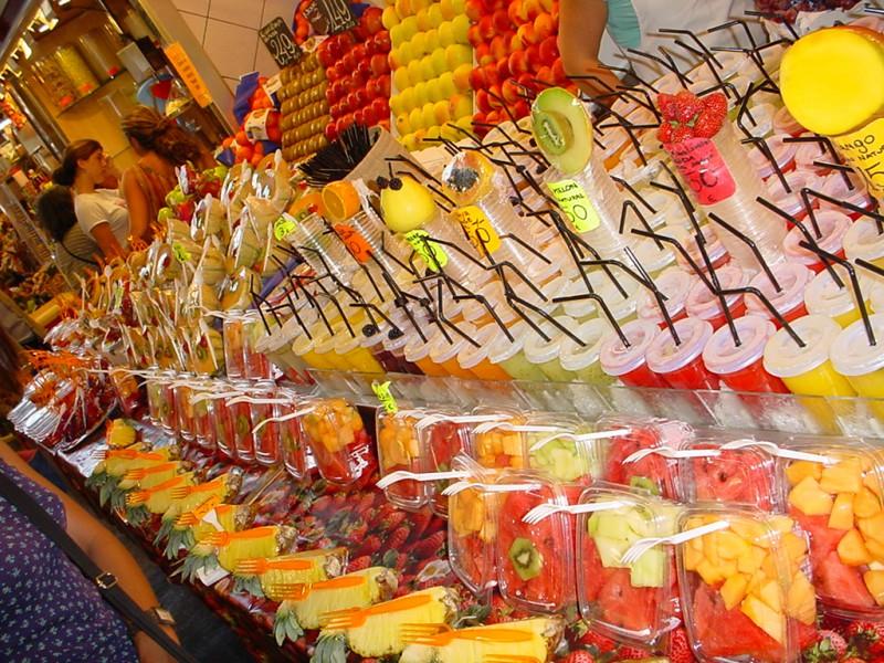 Mercado La Boqueria- Barcelona