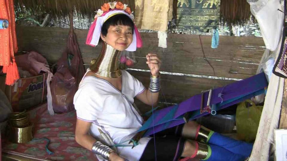 Tribo Karen Padong- Tailândia