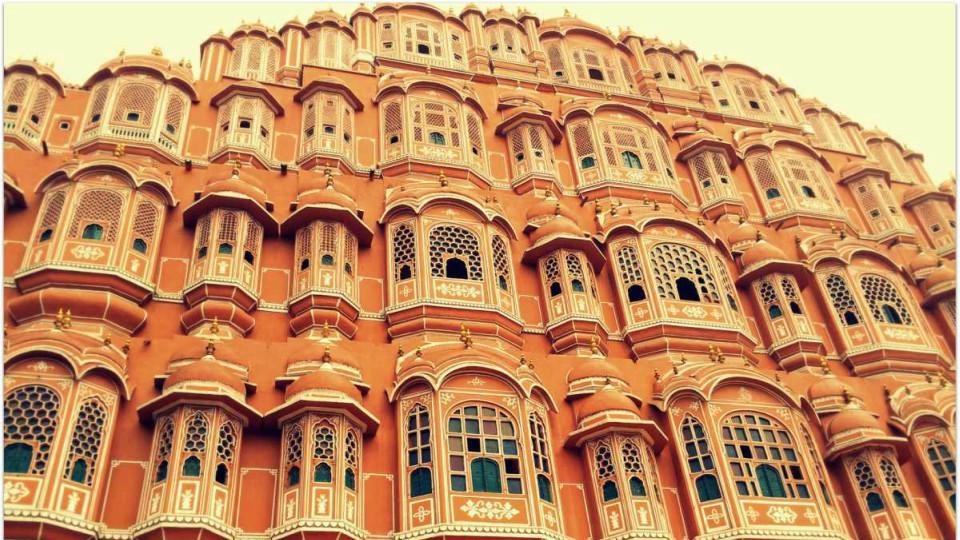 Palácio dos Ventos- Jaipur