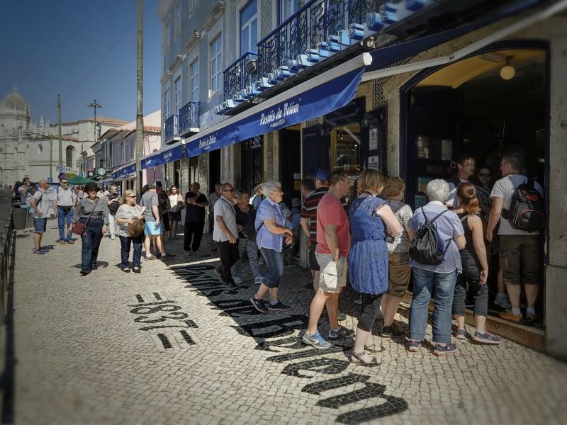 Fachada da Frente - Pastéis de Belém @ credits Pastéis de Belém