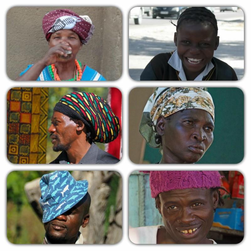 Africa Austral - Rostos