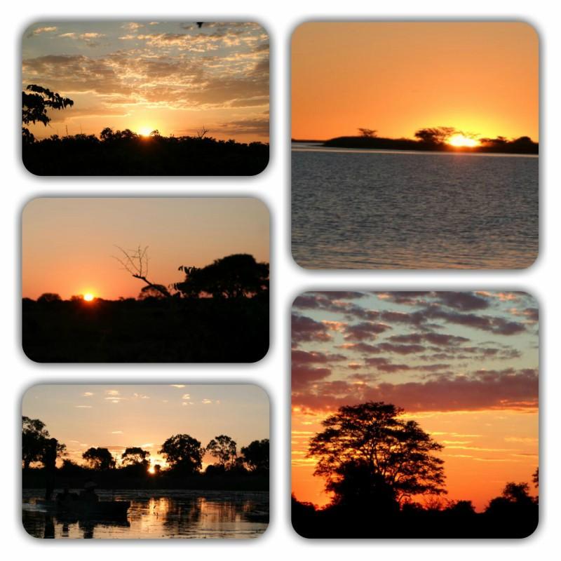 Africa Austral-Sunset