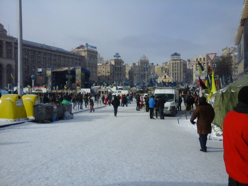 Quatro dias pela Ucrânia