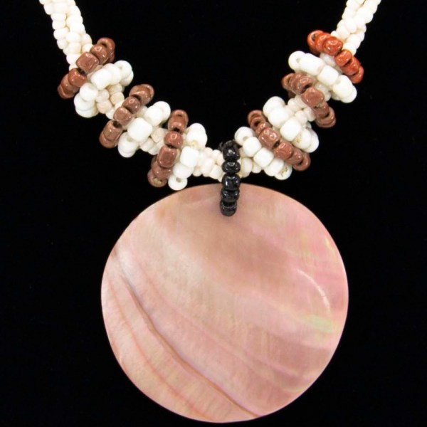 Handmade-Mexican-shell-shakira-beads-Necklace-010-detail