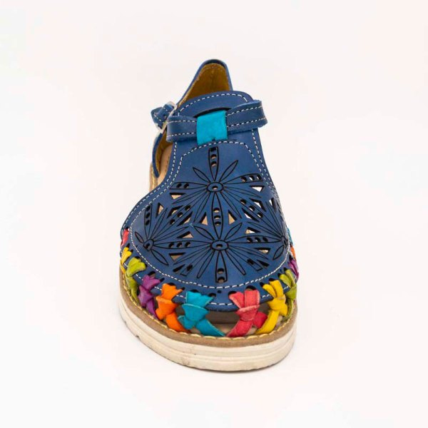 amantli-handmade-mexican-huarache-sandal-shoe-low-sole-carmen-blue-upper-view-093