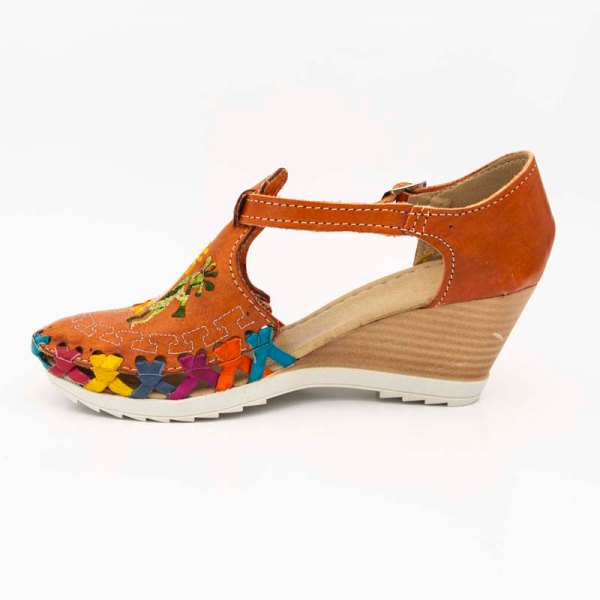 amantli-handmade-mexican-huarache-sandal-shoe-medium-sole-camelia-orange-inner-view-052