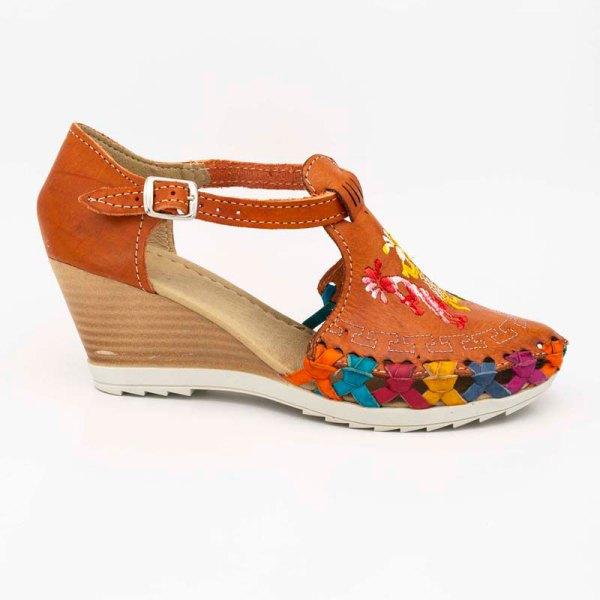 amantli-handmade-mexican-huarache-sandal-shoe-medium-sole-camelia-orange-outer-view-050