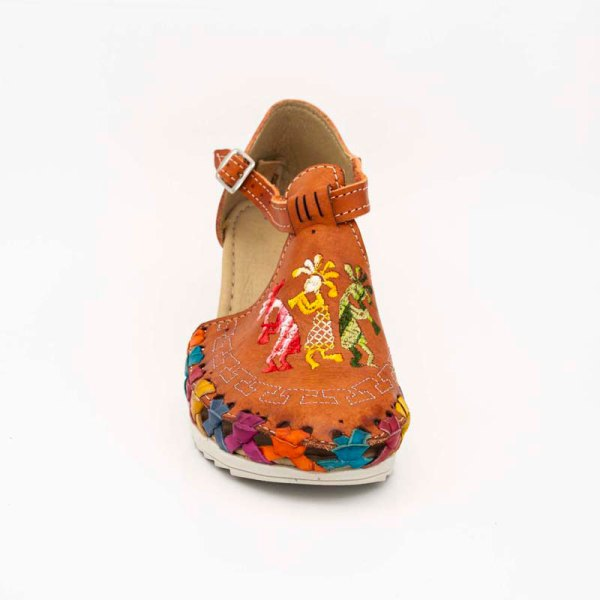 amantli-handmade-mexican-huarache-sandal-shoe-medium-sole-camelia-orange-upper-view-051