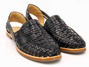 mexican huarache sandal shoe benito pair view