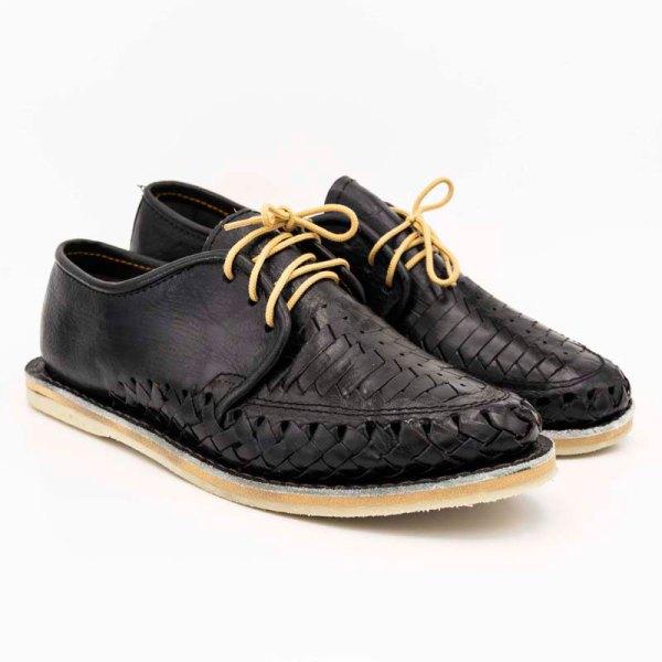 mexican huarache sandal shoe jose pair view