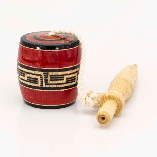 traditional-handmade-medium-red-mexican-wooden-classic-balero-standing-view-028