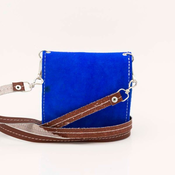 handmade-iris-girls-blue-suede-leather-mexican-handbag-front-view-102