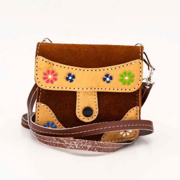 handmade-iris-girls-brown-suede-leather-mexican-handbag-front-view-124
