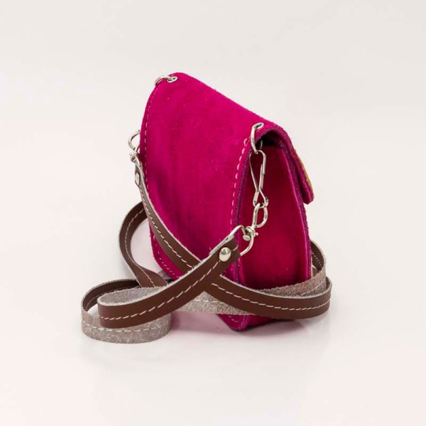 handmade-iris-girls-fuchsia-suede-leather-mexican-handbag-front-view-121