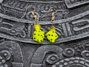dice-hand-blown-glass-yellow-earrings-254