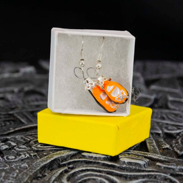 shoes-hand-blown-glass-orange-earrings-152
