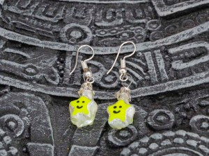 smiling-stars-hand-blown-glass-yellow-earrings-227