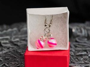 swirl-hand-blown-glass-pink-silver-earrings-130