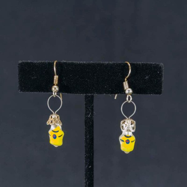 tees-hand-blown-glass-yellow-earrings-236