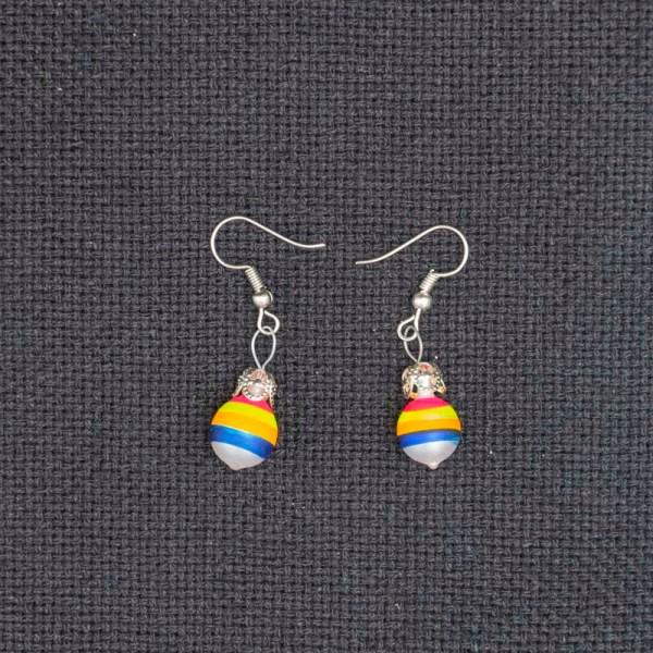 twirl-hand-blown-glass-pink-yellow-blue-earrings-090