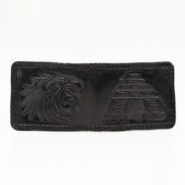 handmade-handtooled-mexican-laced-wallets-pyramid-warrior-049