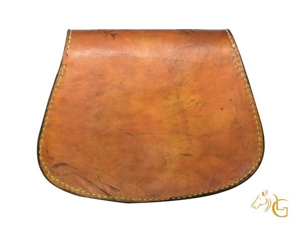 Handmade Hand painted Mexican Leather Cow hide purse handbag-109
