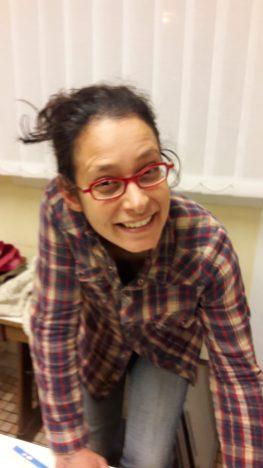 Anne Marine David, maraîchère