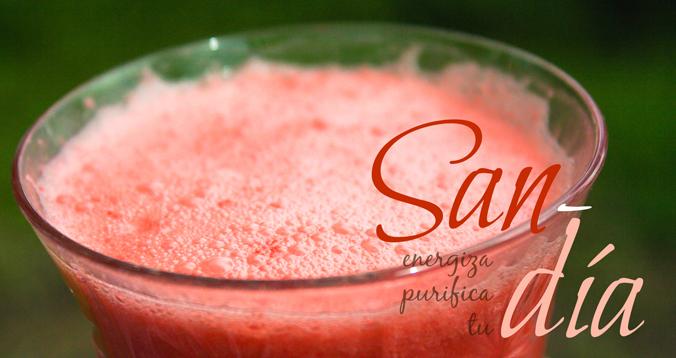 Bebida de Sandía