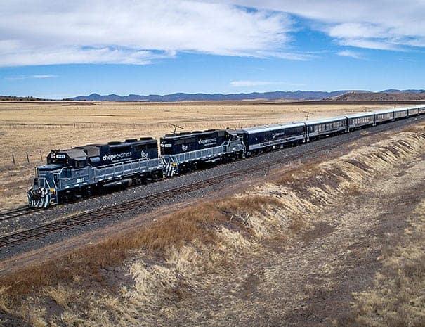 Reise Rundreise Mexiko Kupferschlucht Zugreise Bahnfahrt