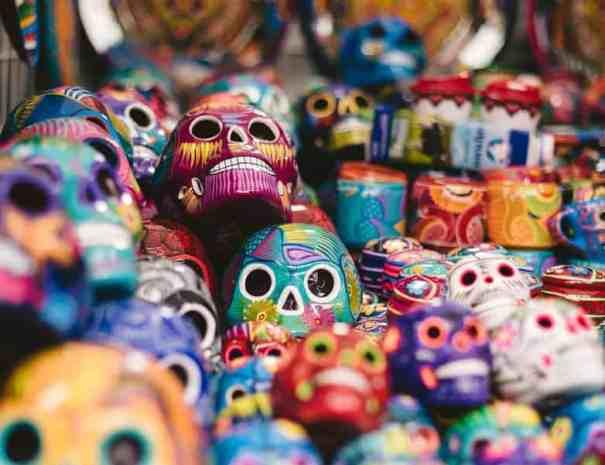 Tag der Toten Catrinas Mexiko Reise