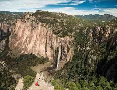 Rundreise Mexiko Kupferschlucht Zugreise Wasserfall