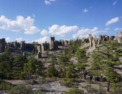 Un valle lleno de magia el valle de los Monjes en Creel, Chihuahua