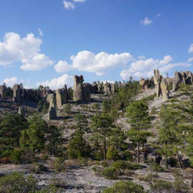 "Ein Tal voller Magie ""Das Tal der Monchen"" in Creel, Chihuahua"