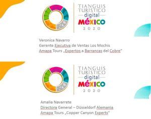 Tianguis Turistico Digital México 2020