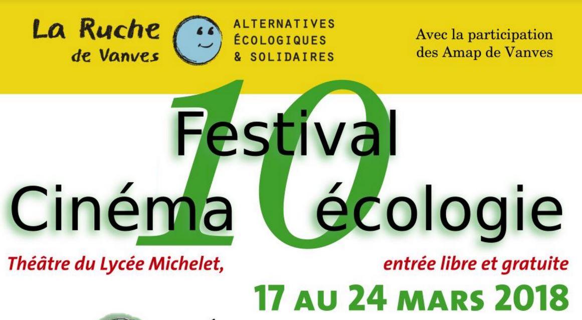 Festival Cinéma-Écologie de Vanves, du 17 au 24 mars 2018
